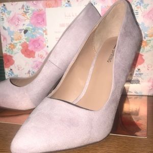 Call it Spring! Suede Spring style pumps! Size 8.5